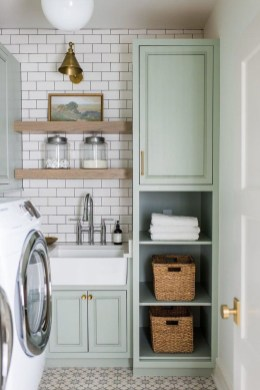 Fascinating Small Laundry Room Design Ideas 44