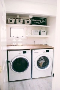 Fascinating Small Laundry Room Design Ideas 48