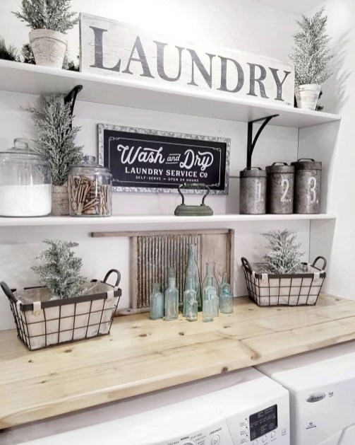 Fascinating Small Laundry Room Design Ideas 60