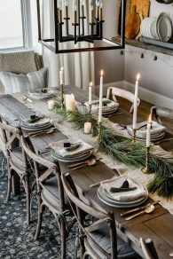 Hottest Christmas Table Decorating Ideas For You 09