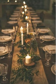 Hottest Christmas Table Decorating Ideas For You 23