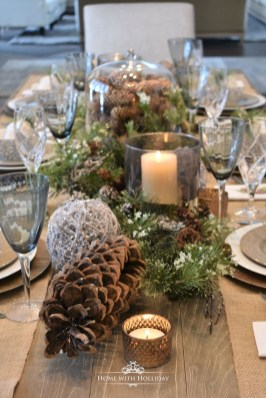 Hottest Christmas Table Decorating Ideas For You 51