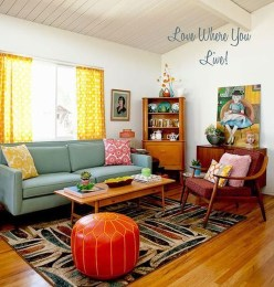 Impressive Retro Décor Ideas To Apply Asap 35