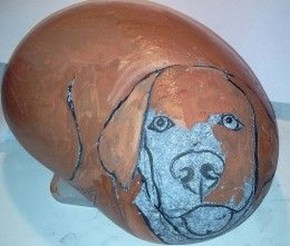 Magnificient Diy Painted Rocks Ideas With Animals Dogs For Summer 24