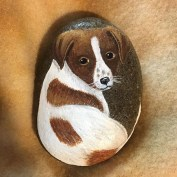 Magnificient Diy Painted Rocks Ideas With Animals Dogs For Summer 29