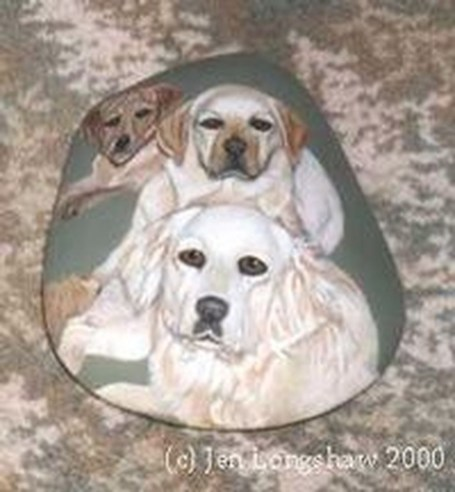 Magnificient Diy Painted Rocks Ideas With Animals Dogs For Summer 32