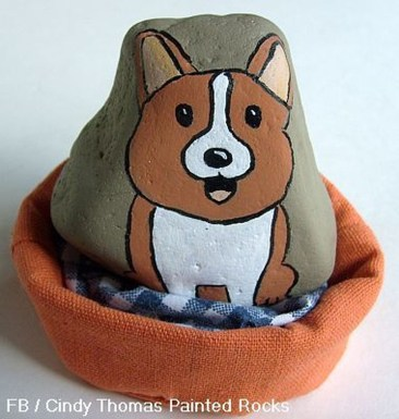 Magnificient Diy Painted Rocks Ideas With Animals Dogs For Summer 38
