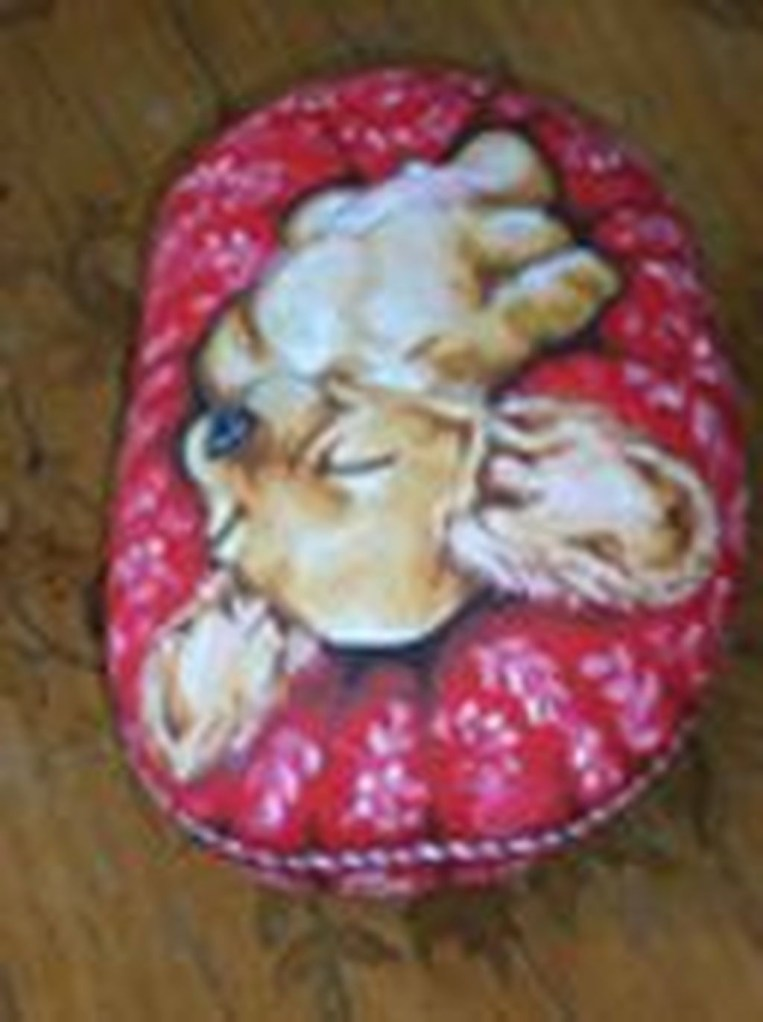 Magnificient Diy Painted Rocks Ideas With Animals Dogs For Summer 39