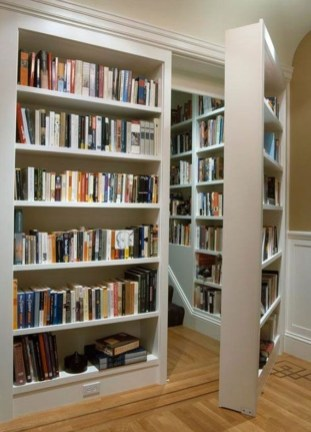 Magnificient Home Design Ideas With Library You Should Keep 18
