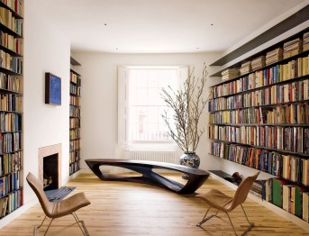 Magnificient Home Design Ideas With Library You Should Keep 46