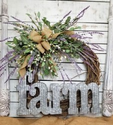 Pretty Summer Wreath Decor Ideas For Front Door 13