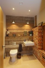 Rustic Bathroom Design Ideas With Wood For Home 11