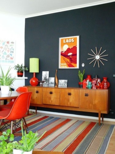 Stylish Colorful Apartment Decor Ideas For Summer 28
