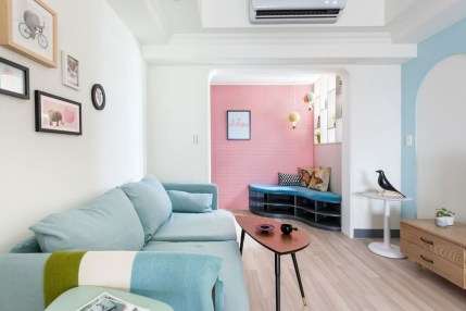 Stylish Colorful Apartment Decor Ideas For Summer 41
