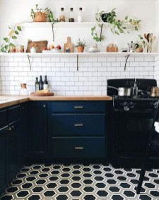 Unique Painted Kitchen Cabinets Design Ideas With Two Tone 04