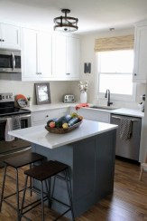 Unique Painted Kitchen Cabinets Design Ideas With Two Tone 32