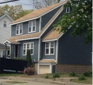 Astonishing Exterior Paint Colors Ideas For House With Brown Roof 24