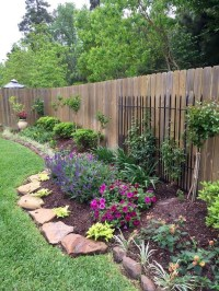 Attractive Border Garden Ideas To Your Landscaping Edging 21