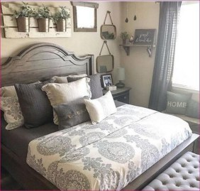Classy Farmhouse Bedroom Ideas To Try Right Now 11