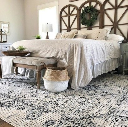 Classy Farmhouse Bedroom Ideas To Try Right Now 15