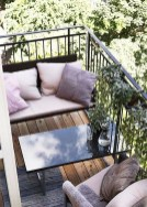 Cool Apartment Balcony Design Ideas For Small Space 30