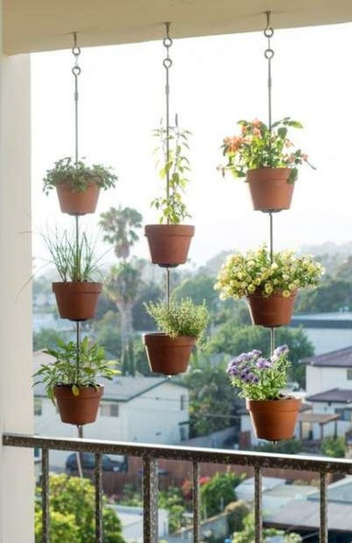 Cool Apartment Balcony Design Ideas For Small Space 40