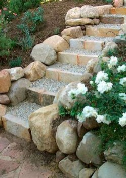 Cozy Rock Garden Landscaping Ideas For Make Your Yard Beautiful 34