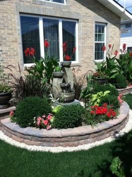 Cozy Rock Garden Landscaping Ideas For Make Your Yard Beautiful 35