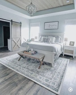 Enchanting Farmhouse Bedroom Ideas For Your House Design 09