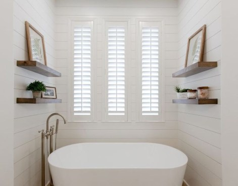 Enchanting Plantation Shutters Ideas That Perfect For Every Style 07