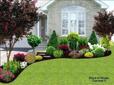 Impressive Small Front Yard Landscaping Ideas To Try 29