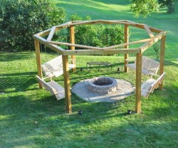 Modern Diy Firepit Ideas For Your Yard This Year 12