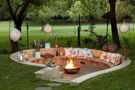 Modern Diy Firepit Ideas For Your Yard This Year 40