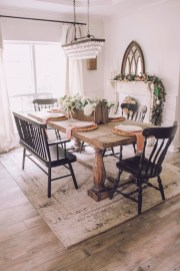 Relaxing Farmhouse Dining Room Design Ideas To Try 04