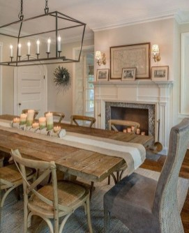 Relaxing Farmhouse Dining Room Design Ideas To Try 17