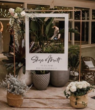 Splendid Wedding Decorations Ideas On A Budget To Try 36