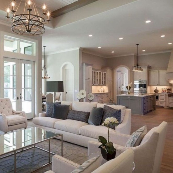 Superb Warm Family Room Design Ideas For This Winter 09