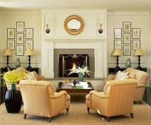 Superb Warm Family Room Design Ideas For This Winter 40