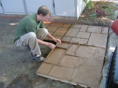 Unordinary Diy Pavement Molds Ideas For Garden Pathway To Try 48