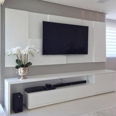 Unordinary Tv Stand Design Ideas For Small Living Room 30