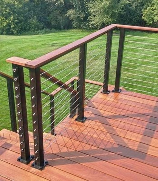 Admiring Deck Railling Ideas That Will Inspire You 05