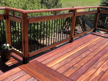 Admiring Deck Railling Ideas That Will Inspire You 30