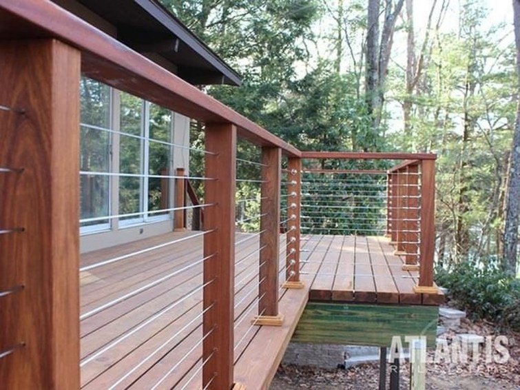 Admiring Deck Railling Ideas That Will Inspire You 41