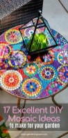 Amazing Diy Mosaic Decorations Ideas To Inspire Your Own Garden 11