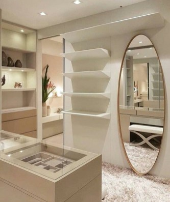 Attractive Dressing Room Design Ideas For Inspiration 33
