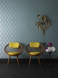 Awesome Retro Wallpaper Decor Ideas To Try 06