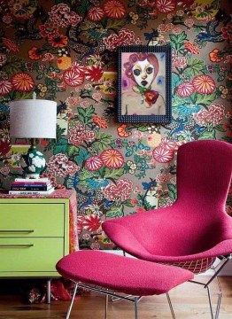 Awesome Retro Wallpaper Decor Ideas To Try 18