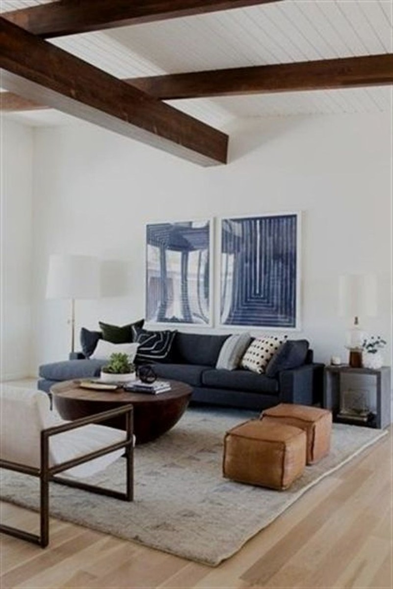 Cozy Masculine Living Room Design Ideas To Try 08
