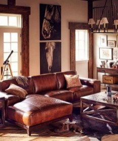 Cozy Masculine Living Room Design Ideas To Try 11