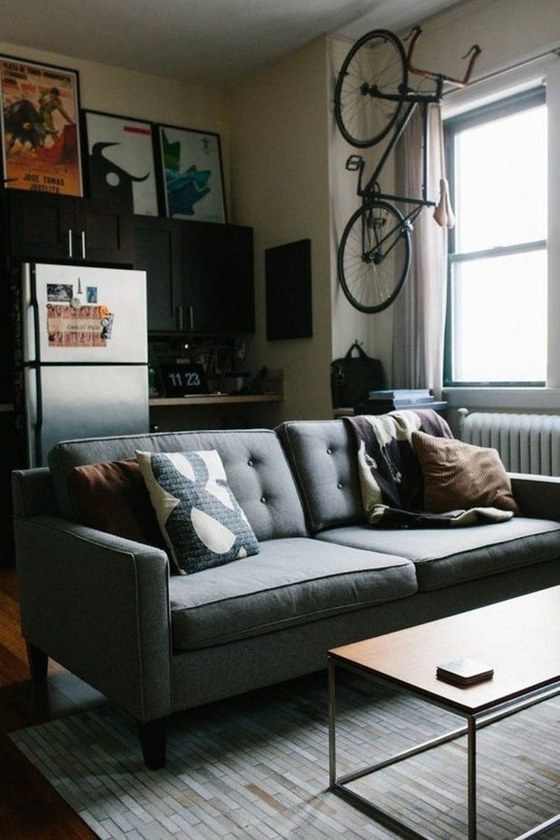 Cozy Masculine Living Room Design Ideas To Try 44